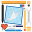 blueprint, computer, design, development, tool, tools icon