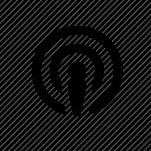 music, podcast, radio, radiostation, set, singer, sound icon