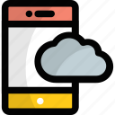 cloud android phone, cloud computing, cloud computing tablet, cloud mobile device, mobile cloud icon