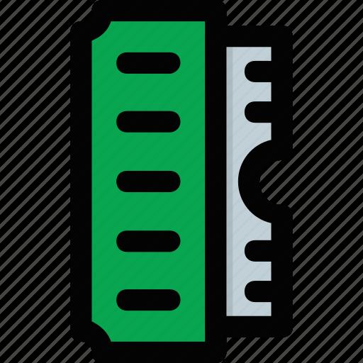 computer data storage, main memory, primary memory, ram, random access memory icon