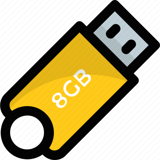 computer and accessories, flash drive, usb, usb stick icon
