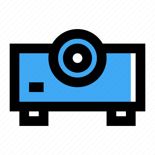 Beamer, presentation, projector icon - Download on Iconfinder