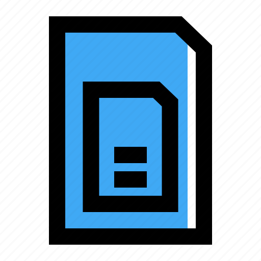 Card, mobile, sim icon - Download on Iconfinder