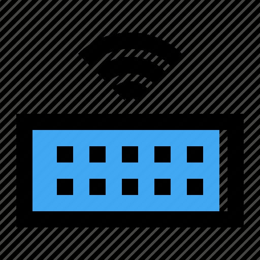 hardware, keyboard, wireless icon