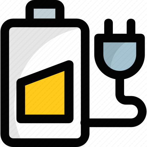 battery charging, battery charging indication, charging symbol, mobile battery charging, mobile battery plugin icon
