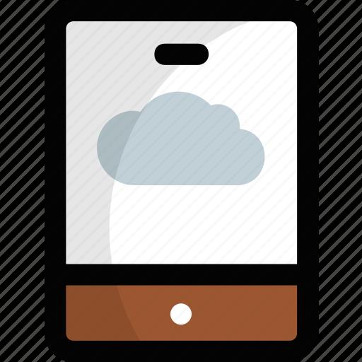 cloud android phone, cloud computing, cloud computing tablet, cloud mobile device, mobile cloud icon