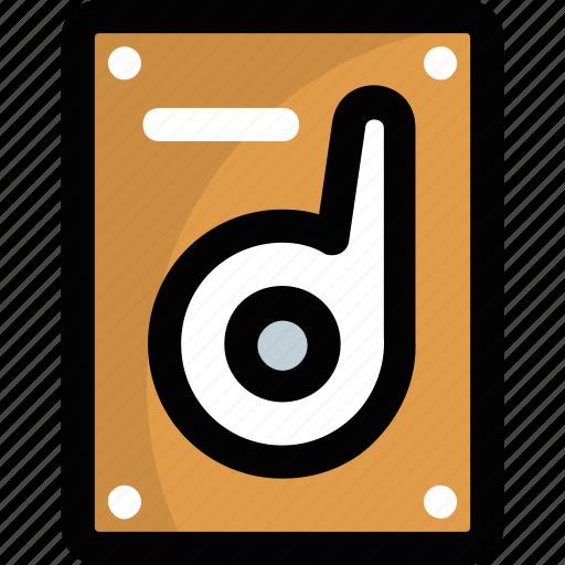 computer drive, data storage, hard disk, hard drive, hdd icon