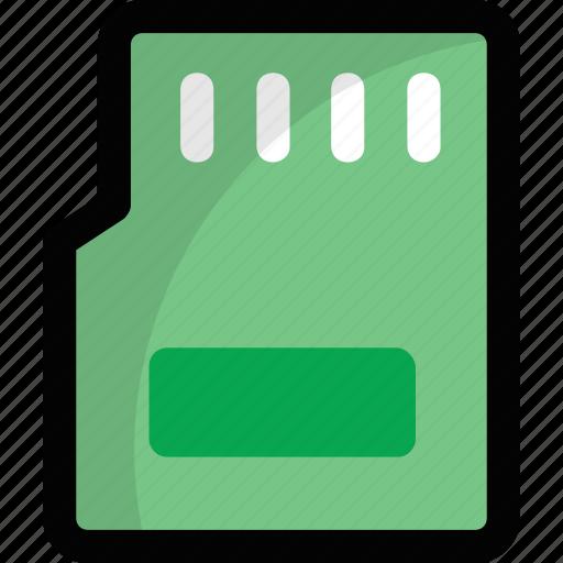 flash card, memory card, memory cartridge, memory chip, sd card icon