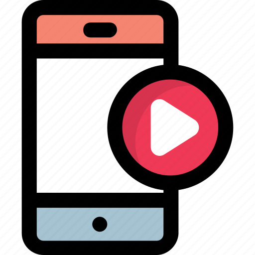 mobile media player, mobile multimedia, mp3 player, video phone, video player interface icon