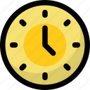 clock, round clock, time, timer, watch icon