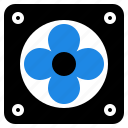 computer, fan, hardware icon