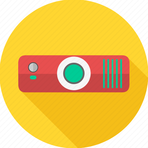 device, projector, technology icon