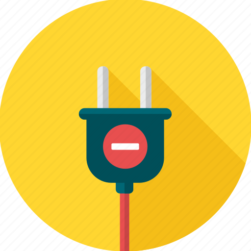 battery, cable, charge, plug, power, socket icon