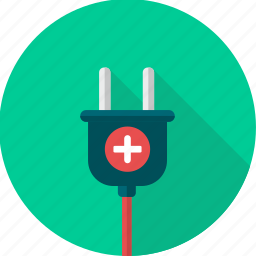 battery, cable, charge, electric, plug, power, socket icon