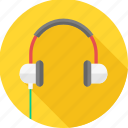 audio, head phone, instrument, music, musical, sound, volume icon