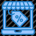 discount, laptop, sale, shopping, online
