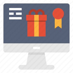 box, computer, gift, marketing, online, shoping, technology icon