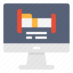 booking, computer, hostel, hotel, online, service, technology icon