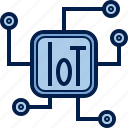 chip, computer, cpu, hardware, iot, pc, processor icon