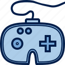 computer, console, gamepad, hardware, joystick, manipulator, pc icon