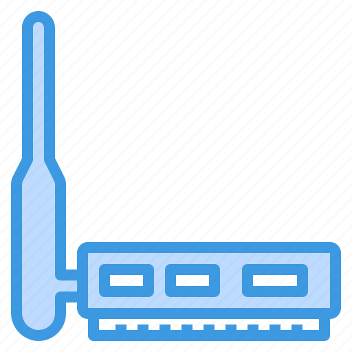 adapter, computer, interface, technology, wireless icon