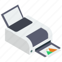 color printer, inkjet printers, laser printer, printer, printing machine icon
