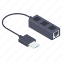 cable flash, cord cable, data cable, network cable, recharging cable, usb cable icon