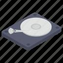 data storage, data transfer, disc, drive, hard disk drive, hard drive, optical disc icon
