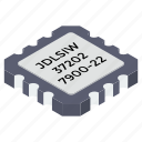 computer chip, electronic microchip, integrated circuit, memory chip, microprocessor, processor chip