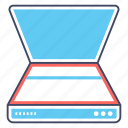 data extraction, hardware, office scanner, scanner, scanning device, scanning machine icon