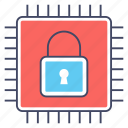 chip protection, data protection, hardware security, secure device, secure storage icon