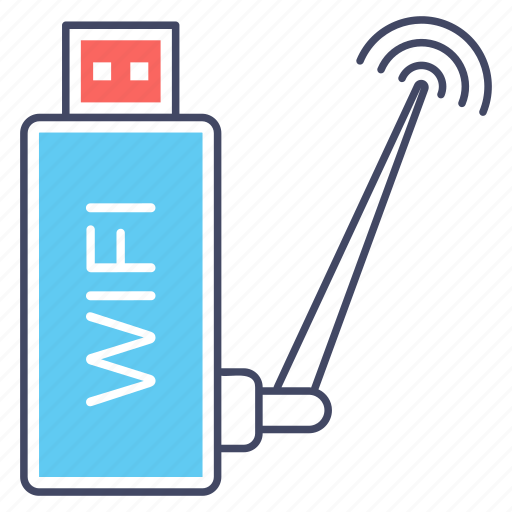 internet usb, usb signals, wifi device, wifi hardware, wifi usb icon