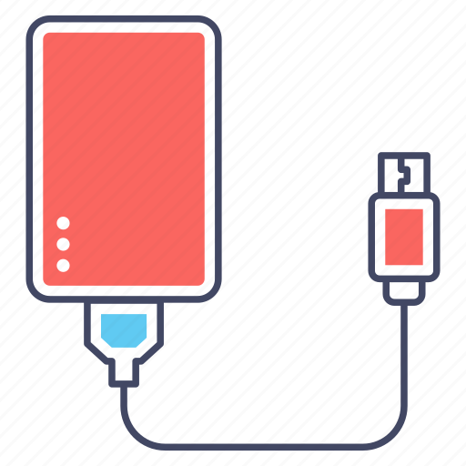 charging device, hardware, portable device, power bank, usb icon