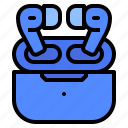 bluetooth, ear, in, monitor icon