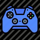 gaming, gear, joy, stick icon