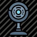 camera, computer, hardware, web icon