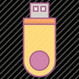 computer, flashdisk, harddisk, hardware, usb icon