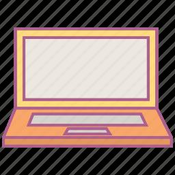 computer, hardware, laptop, macbook icon