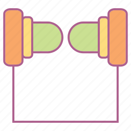 computer, earphone, hardware, headset, mp3, sound icon