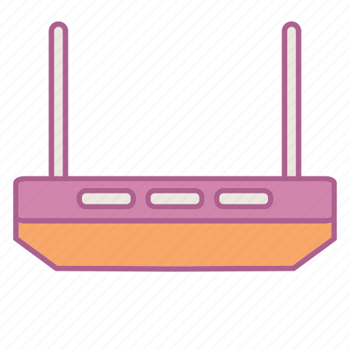 computer, hardware, link, modem, tp link, wifi icon