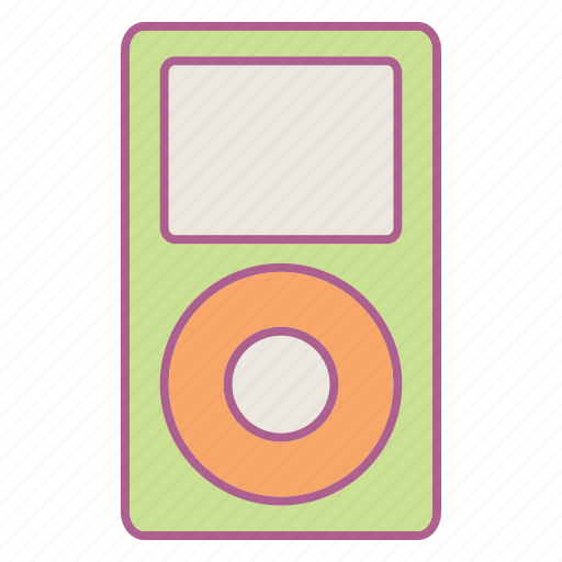computer, hardware, mp3, mp3 player, music icon