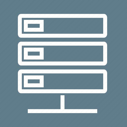 computer, data, database, hosting, server, technology icon