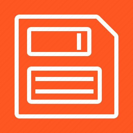 disc, disk, diskette, file, floppy, guardar, memory, save icon
