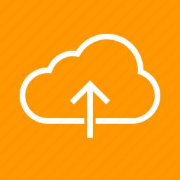 arrow, computer, data, internet, navigation, upload, web icon
