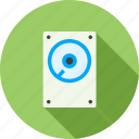 data, drive, file, hard disk, media, record, storeage device icon