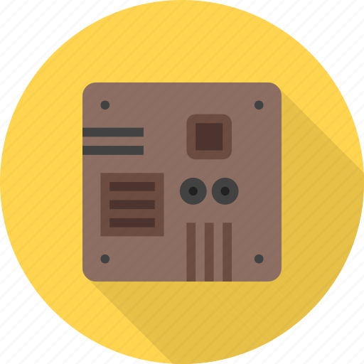 board, chip, circuit, microchip, microprocessor, motherboard, processor icon