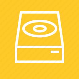 box, cd, computer, dcd rom, disc, dvd, hardware icon