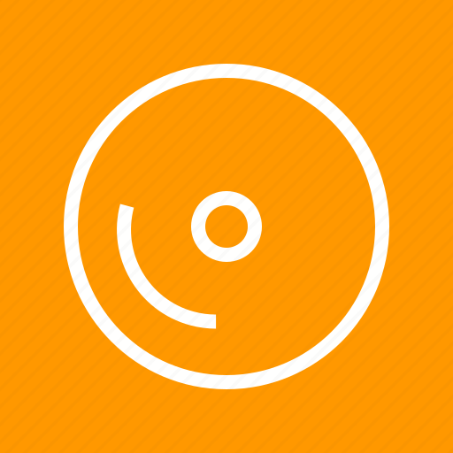 cd, disc, dvd, multimedia, music, record, video icon