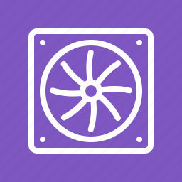 blower, computer, coolant, cooling fan, fan, hardware, processor fan icon