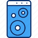 audio, loud, multimedia, music, speaker, woofer icon